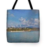 Fajardo Ferry Service To Culebra And Vieques Panorama Tote Bag