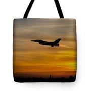 Falcon Sunset Tote Bag