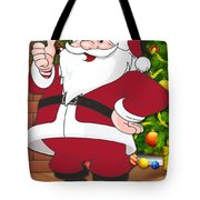 Falcons Santa Claus Tote Bag