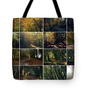 Fall - A Montage Tote Bag