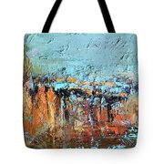 Fall Abstractions Tote Bag