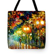 Fall Alley Tote Bag
