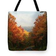 Fall Along Greenland Road Tote Bag