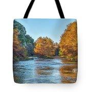 Fall Along The Frio River Tote Bag