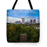 Fall Approaching In Richmond Tote Bag
