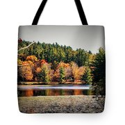 Fall At Bass Lake Tote Bag