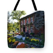 Fall At Lanier Winery In Madison  Tote Bag