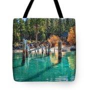 Fall At Skunk Harbor Lake Tahoe Tote Bag