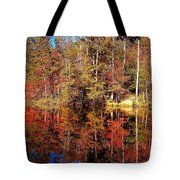 Fall At Table Rock Tote Bag
