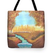 Fall At The Meadows Tote Bag