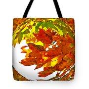 Fall Ball Tote Bag