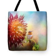Fall Beauty In The Garden Tote Bag