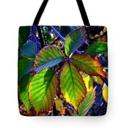 Fall Blackberry Tote Bag