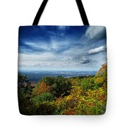 Fall Blue Ridge Parkway Tote Bag