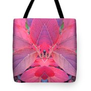Fall Blueberry Leaves Tote Bag