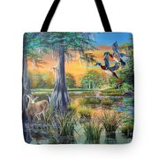 Fall Bounty- Big Cypress Swamp  Tote Bag