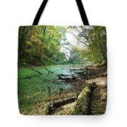 Fall By A River Tote Bag