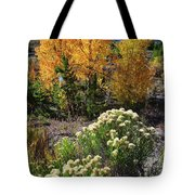 Fall Color Comes To Dillon Reservoir Tote Bag