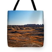 Fall Color In The Badlands Tote Bag