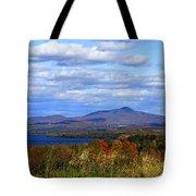 Fall Colors At Lake Carmi Tote Bag