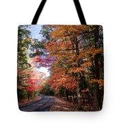 Fall Colors Backroad Tote Bag