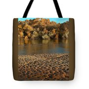 Fall Colors On The Rio Grande 1 Tote Bag
