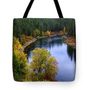 Fall Colors On The River Tote Bag