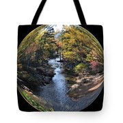 Fall With A Twist Tote Bag