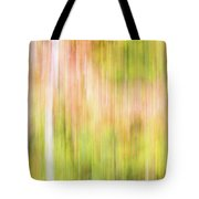 Fall Colours Abstract, Oxtongue River, Algonquin Highlands Tote Bag