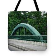 Fall Creek Gorge Bridge Cornell University Ithaca New York Tote Bag