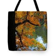 Fall Day At The Lake Tote Bag