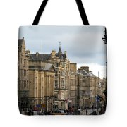 Fall Day In Edinburgh Tote Bag
