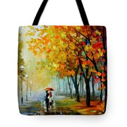 Fall Drizzle Tote Bag