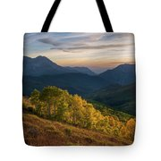 Fall Evening In American Fork Canyon Tote Bag