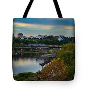 Fall Evening In Richmond Tote Bag