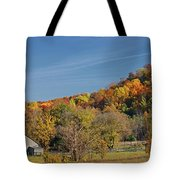 Fall Farmyard Tote Bag