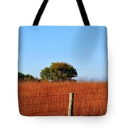 Fall Field Tote Bag