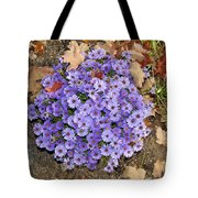 Fall Flowers Tote Bag