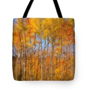 Fall Foliage Color Vertical Image Orton Tote Bag