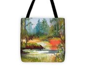 Fall Foliage In Vermont Tote Bag