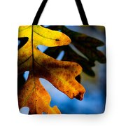 Fall Foliage Leaf Near Ruidoso Nm Tote Bag