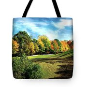 Fall Golf Course Beauty Tote Bag