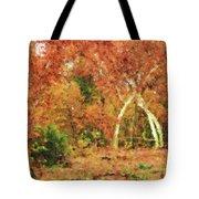 Fall Impression Tote Bag