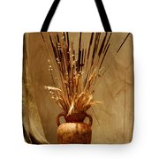 Fall In A Vase Still-life Tote Bag by Christine Till