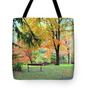 Fall In Brown County Tote Bag