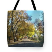 Fall In East Texas Tote Bag