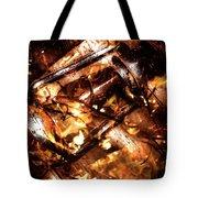 Fall In Fire Tote Bag