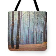 Fall In Forest Tote Bag