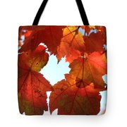 Fall In Love With Autum Tote Bag