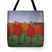 Fall In Markham Tote Bag
